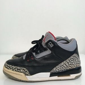 "Jordan 3 Retro ""Black Cement"" 2011"